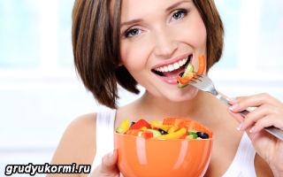 Правила диеты кормящей мамы при коликах у ребенка