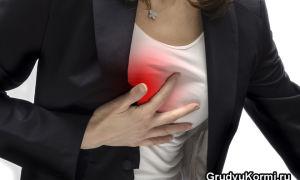 Основные причины, почему болят груди при ГВ и температура