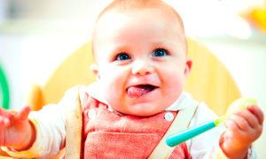 Правильное введение первого прикорма при грудном вскармливании — схема с 5 месяцев