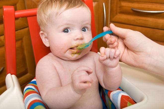 Мясной прикорм малыша