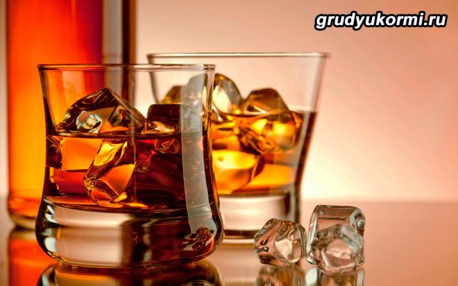 Охлажденное виски с колой