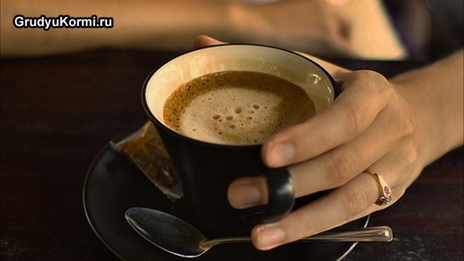 Ароматный кофе в кружке